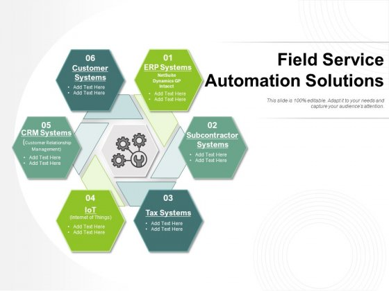 Field Service Automation Solutions Ppt PowerPoint Presentation Ideas Vector PDF