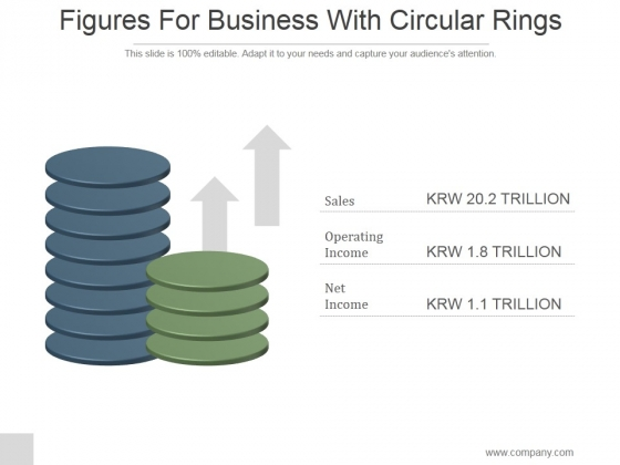 Figures For Business With Circular Rings Ppt PowerPoint Presentation Inspiration