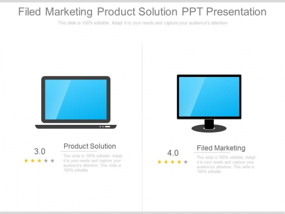 Filed Marketing Product Solution Ppt Presentation