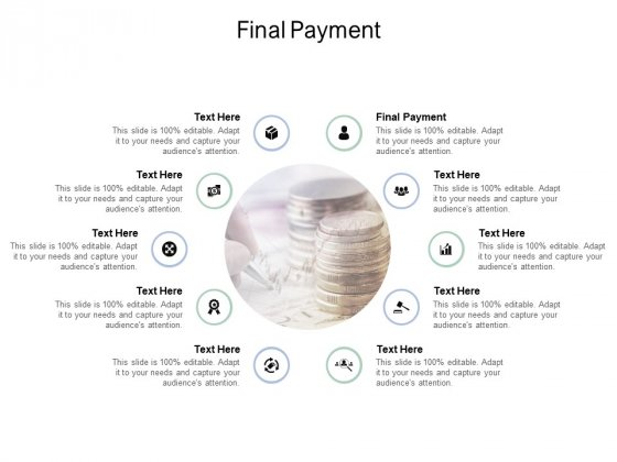Final Payment Ppt PowerPoint Presentation Slides Layout Ideas Cpb Pdf