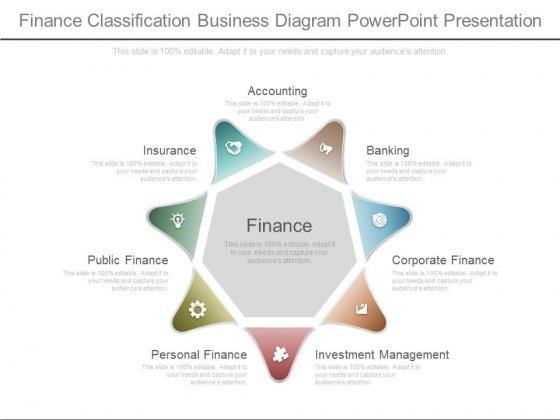 Finance Classification Business Diagram Powerpoint Presentation