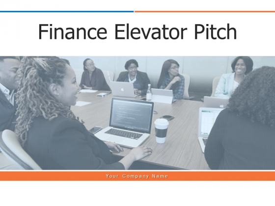 Finance_Elevator_Pitch_Ppt_PowerPoint_Presentation_Complete_Deck_With_Slides_Slide_1