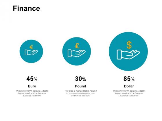 Finance Growth Percentages Ppt PowerPoint Presentation Portfolio Elements