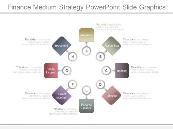 Finance Medium Strategy Powerpoint Slide Graphics