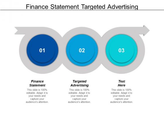 Finance Statement Targeted Advertising Ppt PowerPoint Presentation Show Slides