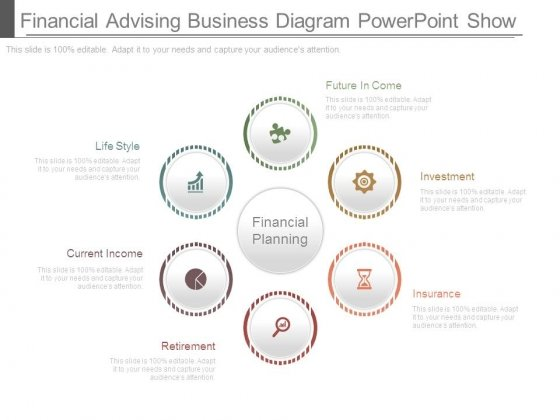 Financial Advising Business Diagram Powerpoint Show