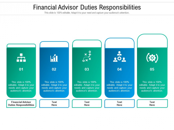 Financial Advisor Duties Responsibilities Ppt PowerPoint Presentation Pictures Graphics Cpb Pdf