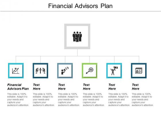 Financial Advisors Plan Ppt PowerPoint Presentation Icon Diagrams Cpb