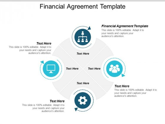 Financial Agreement Template Ppt PowerPoint Presentation Model Skills Cpb