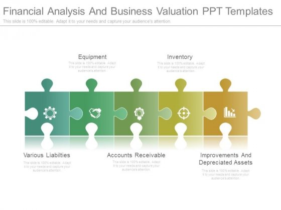 Financial Analysis And Business Valuation Ppt Templates