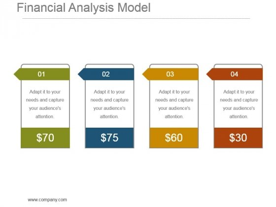 Financial Analysis Model Powerpoint Slide Show