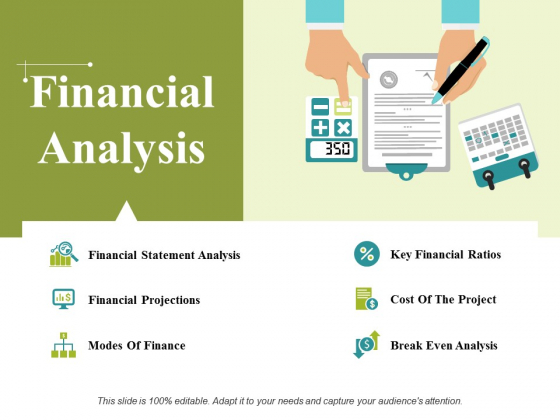 Financial Analysis Ppt PowerPoint Presentation Ideas Background Images