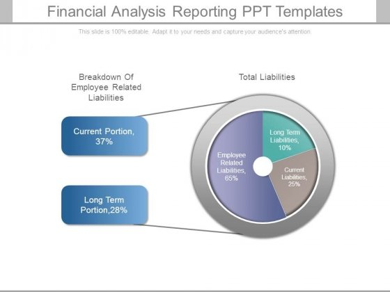 Financial Analysis Reporting Ppt Templates