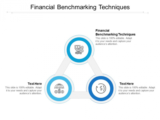 Financial Benchmarking Techniques Ppt PowerPoint Presentation Portfolio Model Cpb