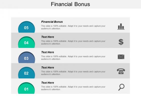 Financial Bonus Ppt PowerPoint Presentation Infographic Template Demonstration