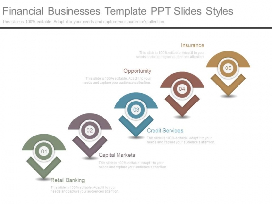 Financial Businesses Template Ppt Slides Styles