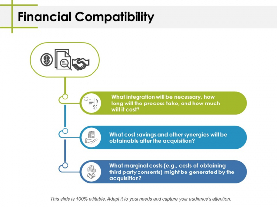 Financial Compatibility Ppt PowerPoint Presentation Ideas Example Topics