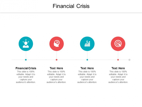 Financial Crisis Ppt PowerPoint Presentation Outline Pictures Cpb Pdf