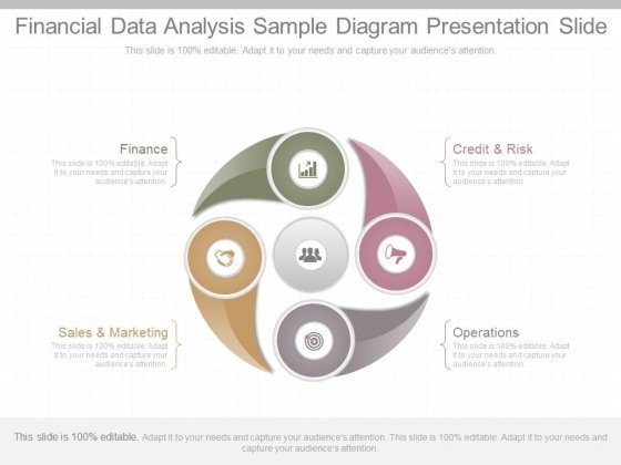 Financial Data Analysis Sample Diagram Presentation Slide