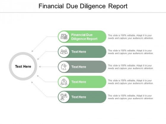 Financial Due Diligence Report Ppt PowerPoint Presentation Slides Graphic Tips Cpb
