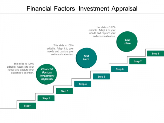 Financial Factors Investment Appraisal Ppt PowerPoint Presentation Icon Design Ideas Cpb