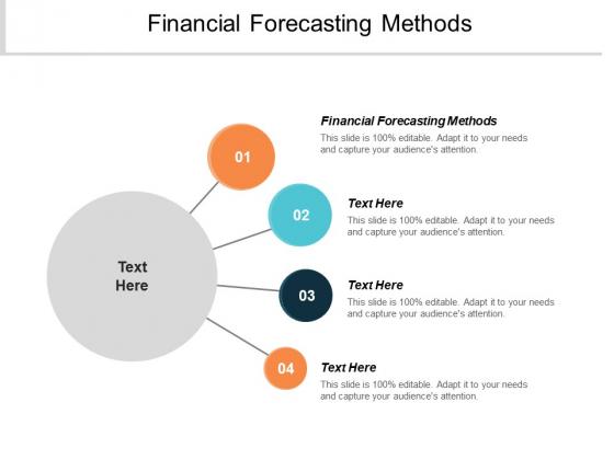 Financial Forecasting Methods Ppt PowerPoint Presentation Model Skills Cpb