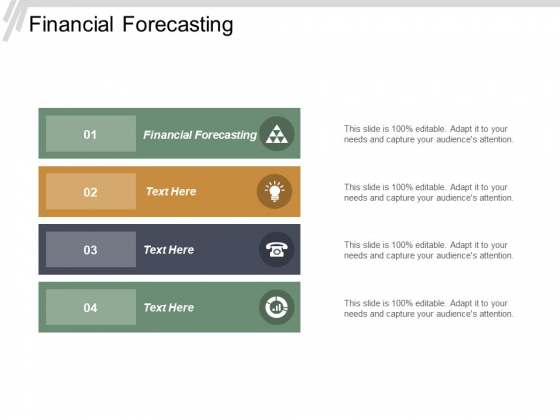 Financial Forecasting Ppt Powerpoint Presentation File Ideas Cpb