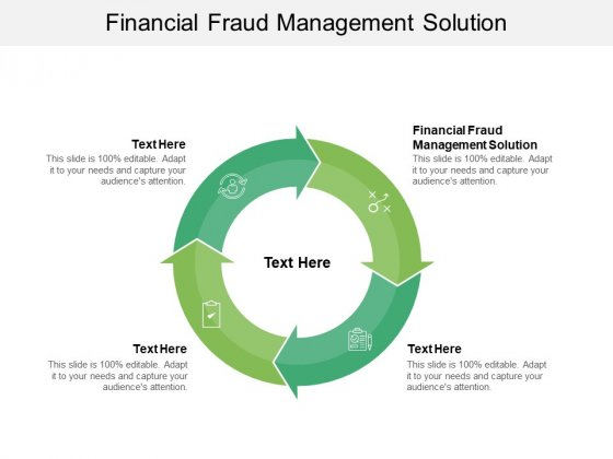 Financial Fraud Management Solution Ppt PowerPoint Presentation Show Cpb Pdf