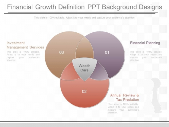 Financial Growth Definition Ppt Background Designs