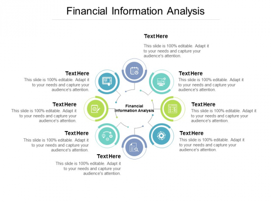 Financial Information Analysis Ppt PowerPoint Presentation Ideas Layout Ideas Cpb