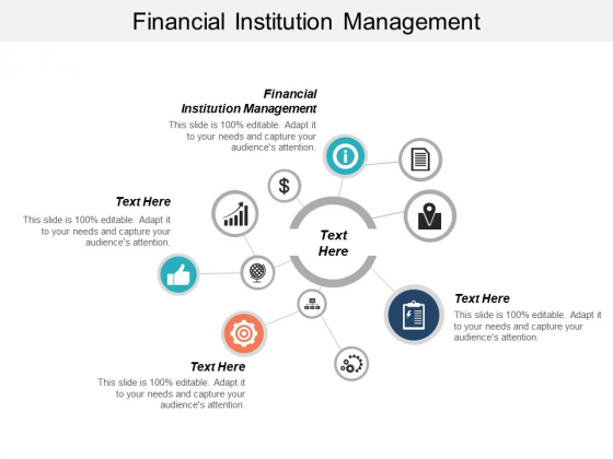 Financial Institution Management Ppt PowerPoint Presentation Outline Display