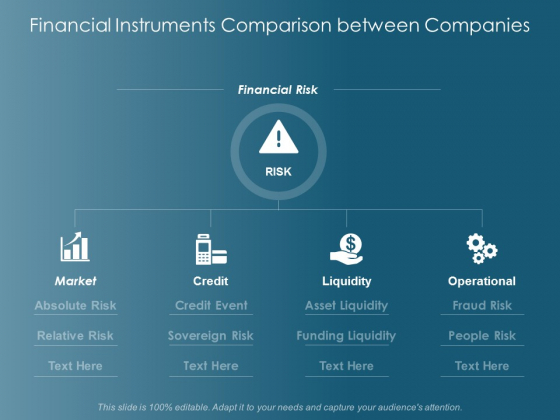 Financial Instruments Comparison Between Companies Operational Ppt Powerpoint Presentation Inspiration Samples