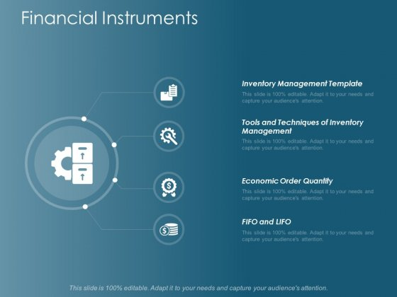 Financial Instruments Management Ppt Powerpoint Presentation Inspiration Show