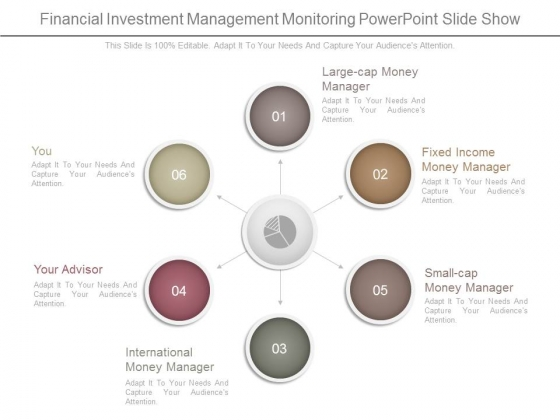 Financial Investment Management Monitoring Powerpoint Slide Show