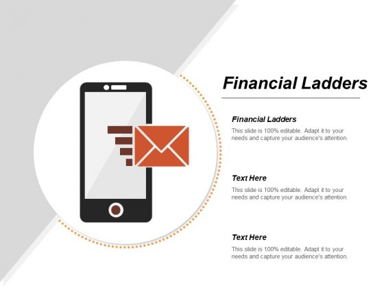 Financial Ladders Ppt Powerpoint Presentation Portfolio Example File Cpb