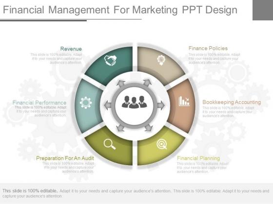 Financial Management For Marketing Ppt Design