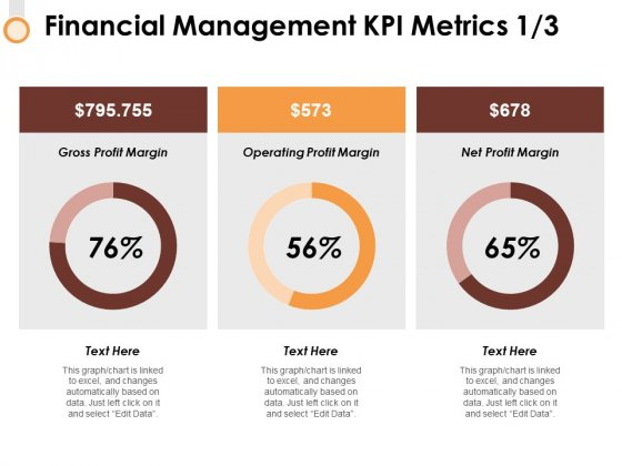 Financial Management Kpi Metrics 1 3 Ppt PowerPoint Presentation Ideas Mockup