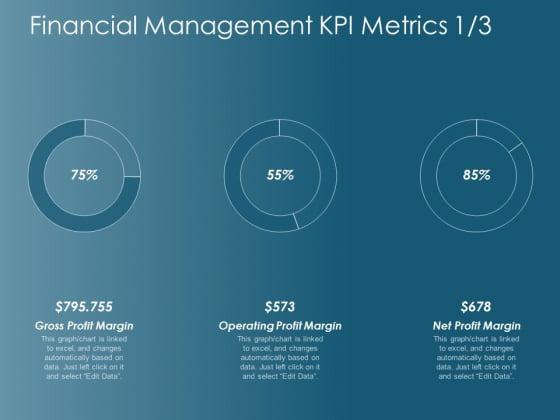 Financial Management Kpi Metrics Operating Profit Margin Ppt Powerpoint Presentation Infographic Template Images