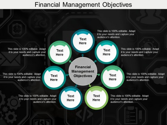 Financial Management Objectives Ppt PowerPoint Presentation File Example Topics Cpb