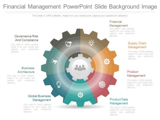 Financial Management Powerpoint Slide Background Image