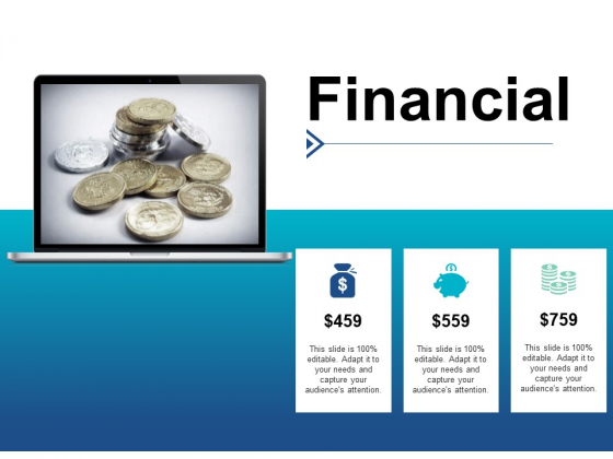 Financial Marketing Management Ppt PowerPoint Presentation File Slide Portrait