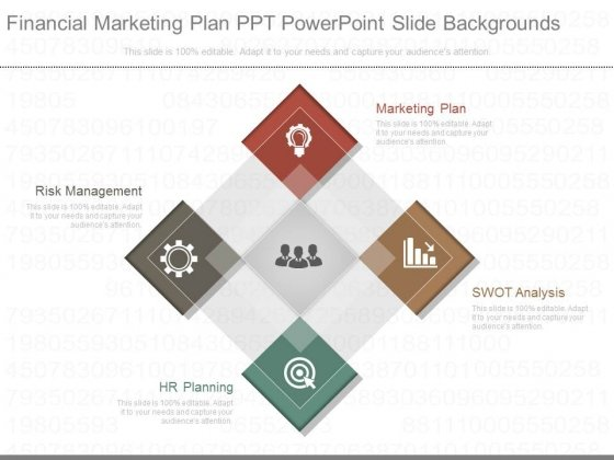 Financial Marketing Plan Ppt Powerpoint Slide Backgrounds