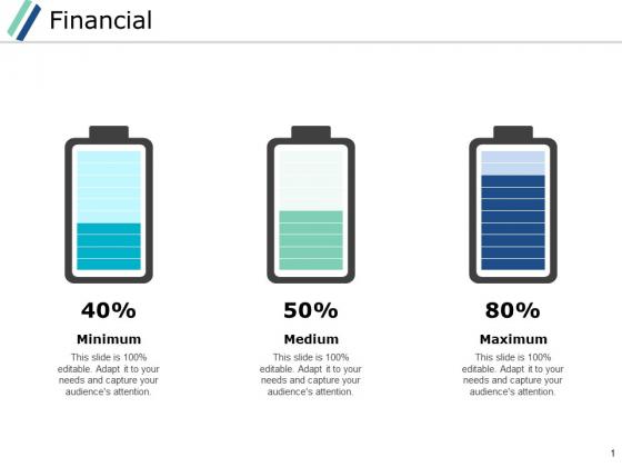 Financial Marketing Ppt PowerPoint Presentation Visual Aids Portfolio