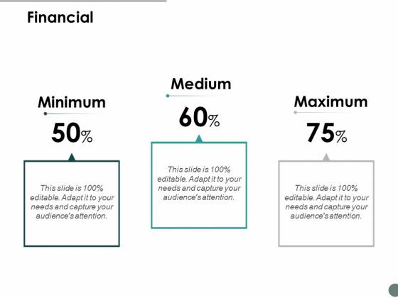 Financial Maximum Medium Ppt Powerpoint Presentation Inspiration Deck