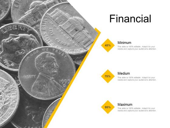 Financial Medium Minimum Maximum Ppt PowerPoint Presentation Ideas Inspiration