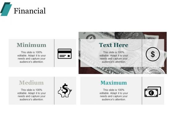 Financial Medium Ppt PowerPoint Presentation Layouts Templates
