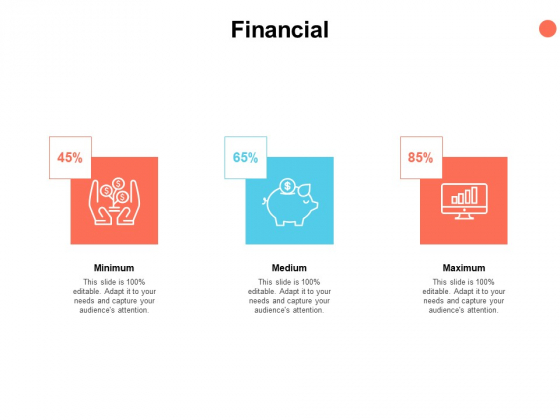 Financial Minimum Maximum Medium Ppt PowerPoint Presentation File Skills