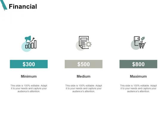 Financial Minimum Maximum Medium Ppt PowerPoint Presentation Show Example