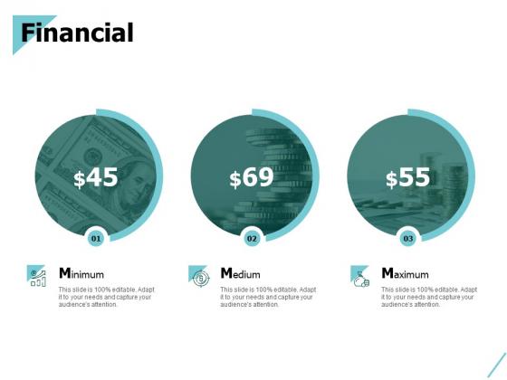 Financial Minimum Maximum Ppt PowerPoint Presentation Ideas