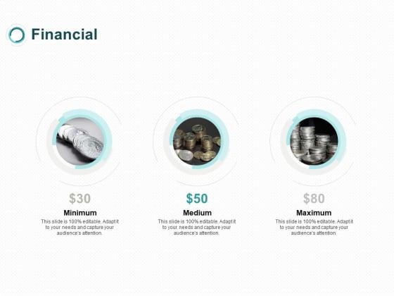 Financial Minimum Medium Maximum Ppt PowerPoint Presentation Summary Background Image